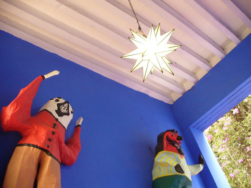 Дом-музей Фриды Кало, интерьер