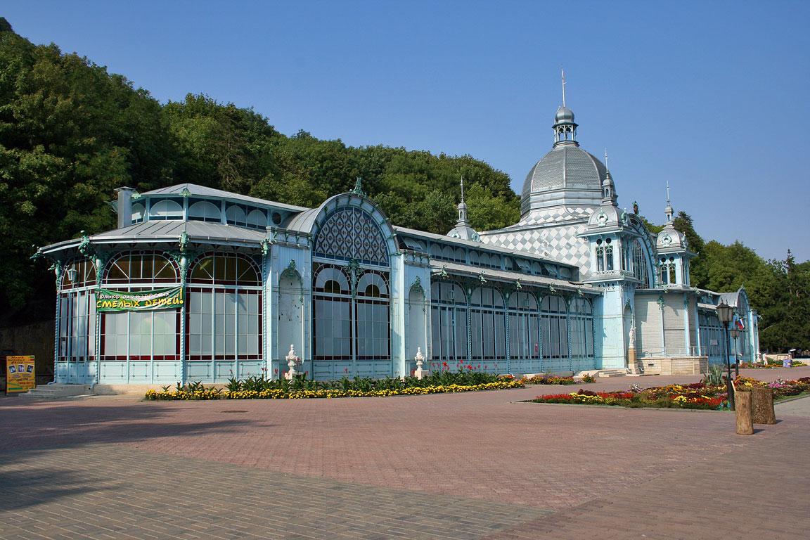 Железноводск, летний театр Пушкинская галерея