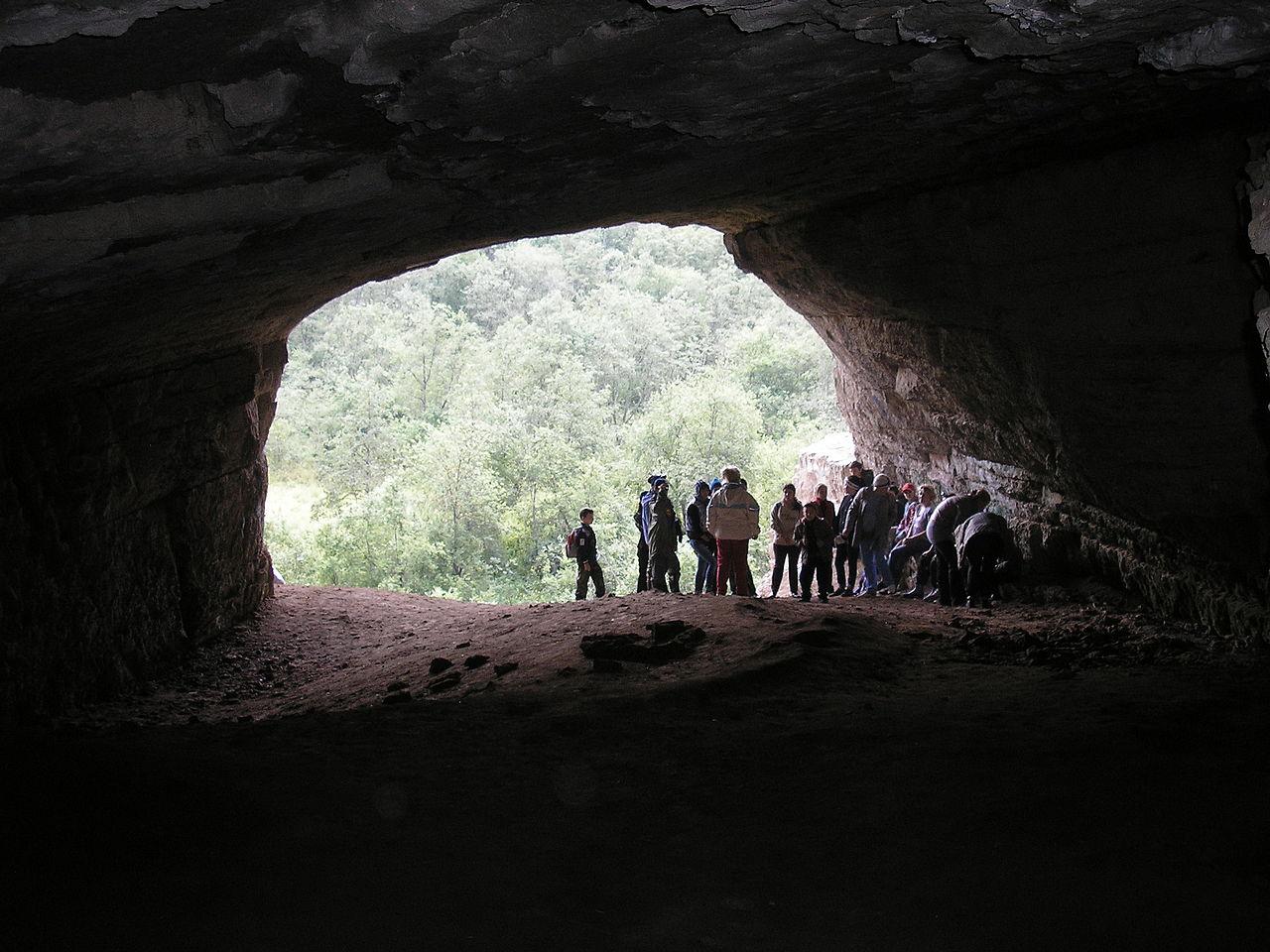 Игнатьевская пещера, у входа