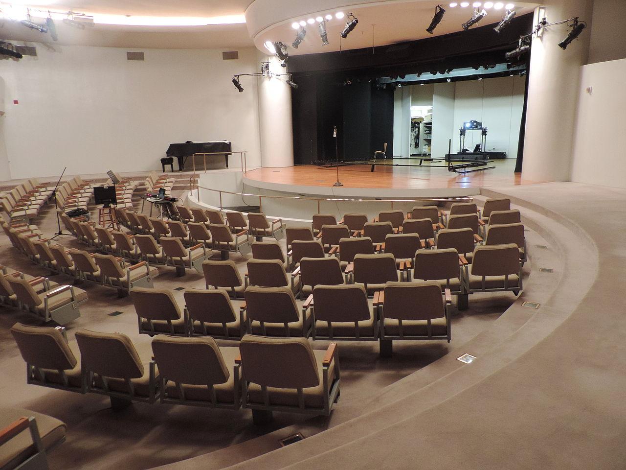 Музей Гуггенхайма, театр