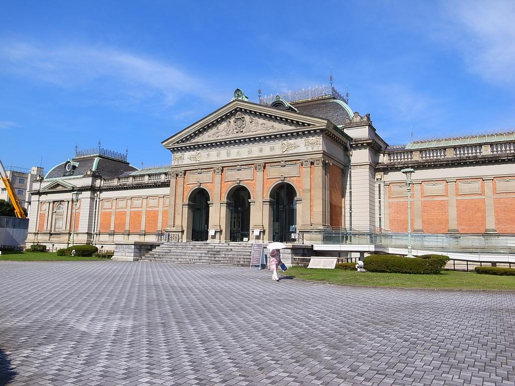 Национальный музей Киото, вход
