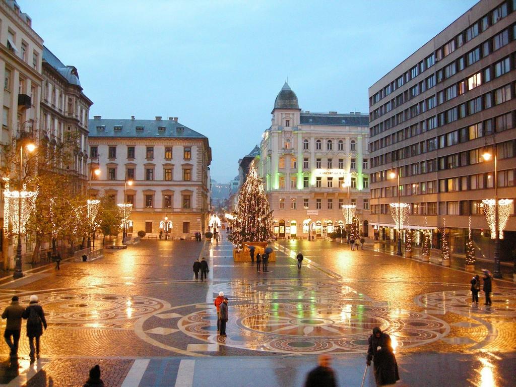Новый год в Венгрии