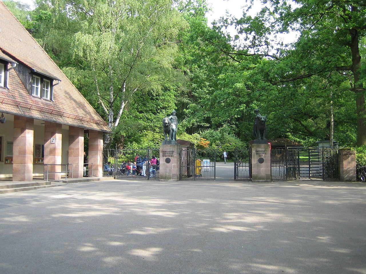 Нюрнбергский зоопарк, вход