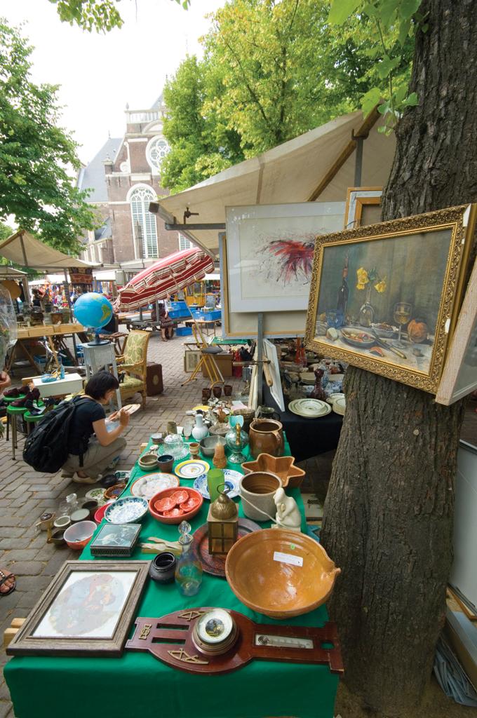 Блошиный рынок в Амстердаме