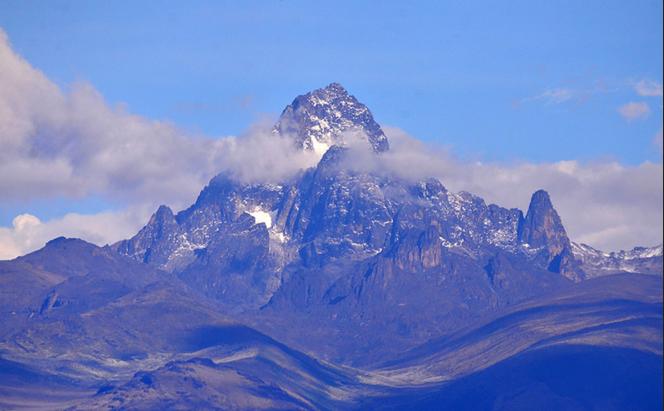 Вид на гору Кения
