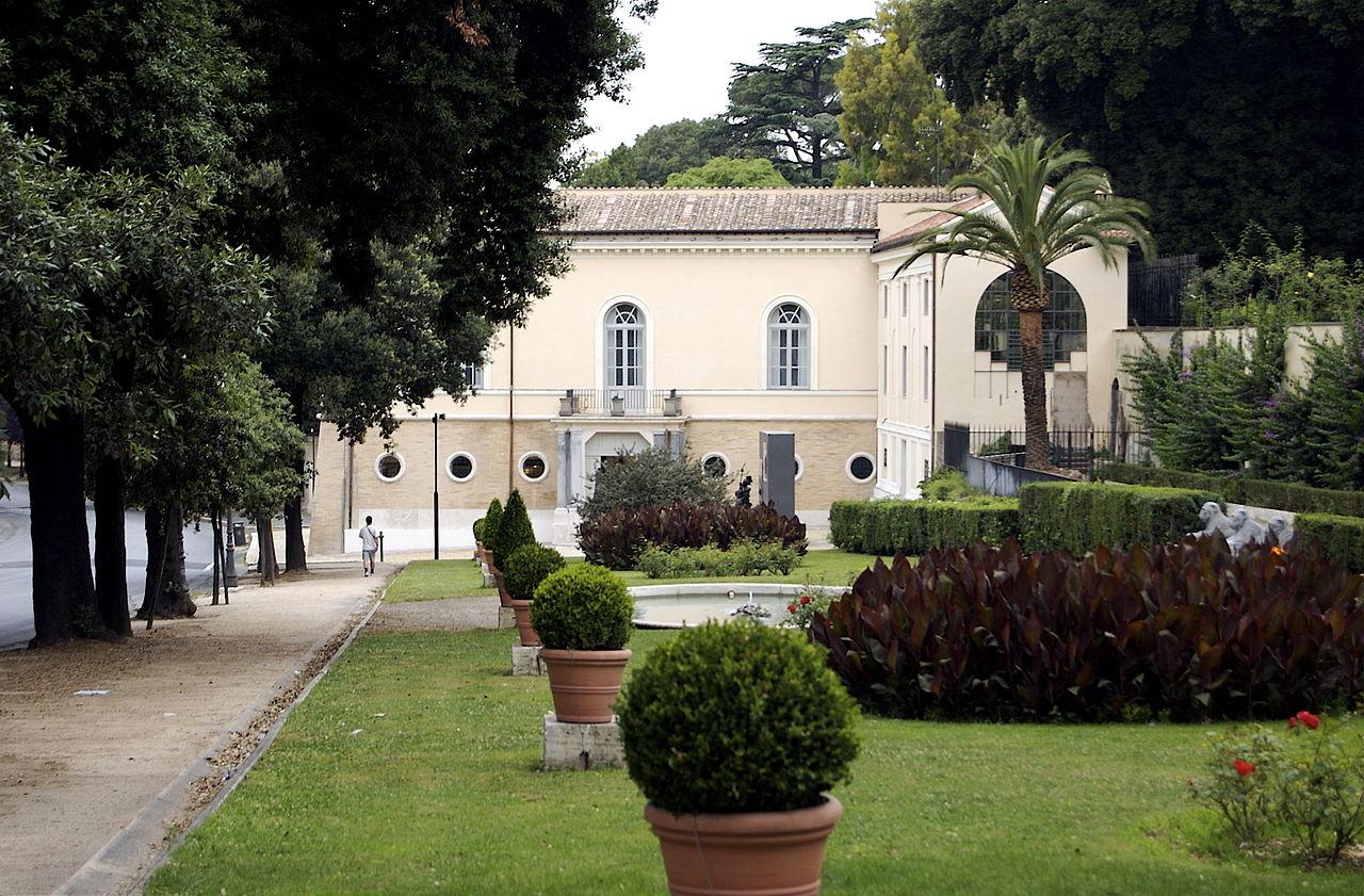Вилла Боргезе, музей Карло Билотти