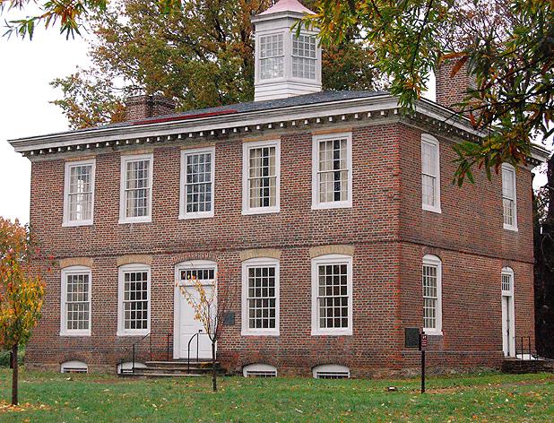 Дом Уильяма Трентона (около 1719) в настоящее время является музеем, Трентон.jpg