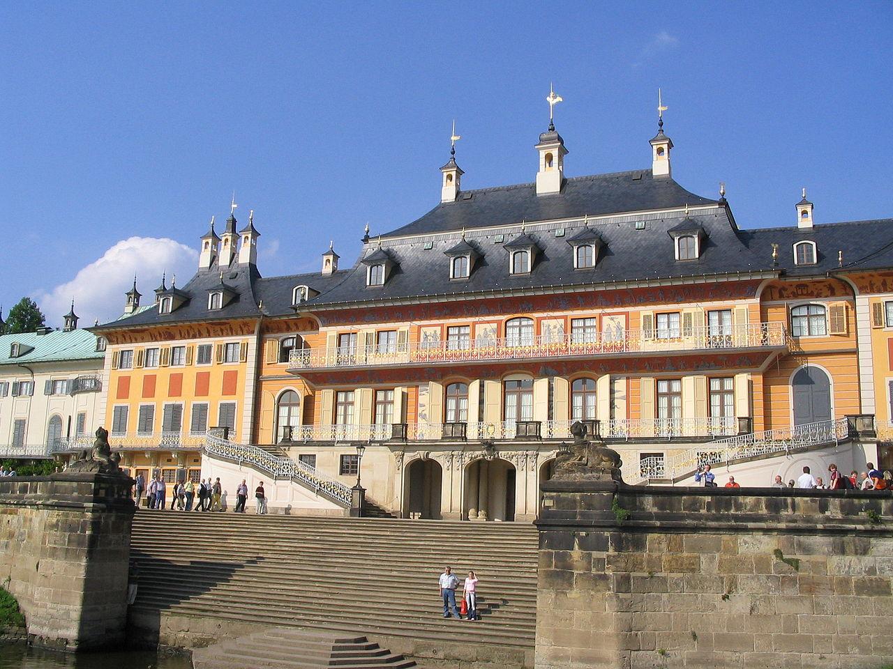 Замок Пильниц, Дрезден