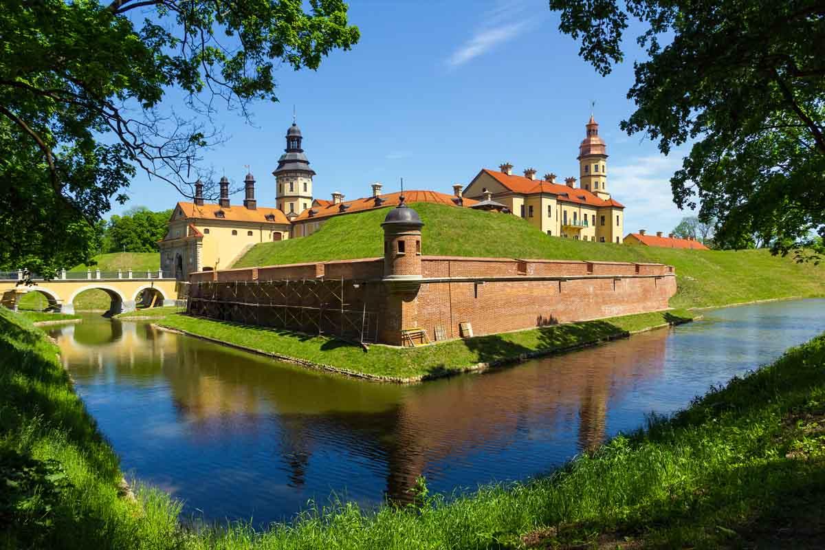 Замок в Несвиже, Белоруссия