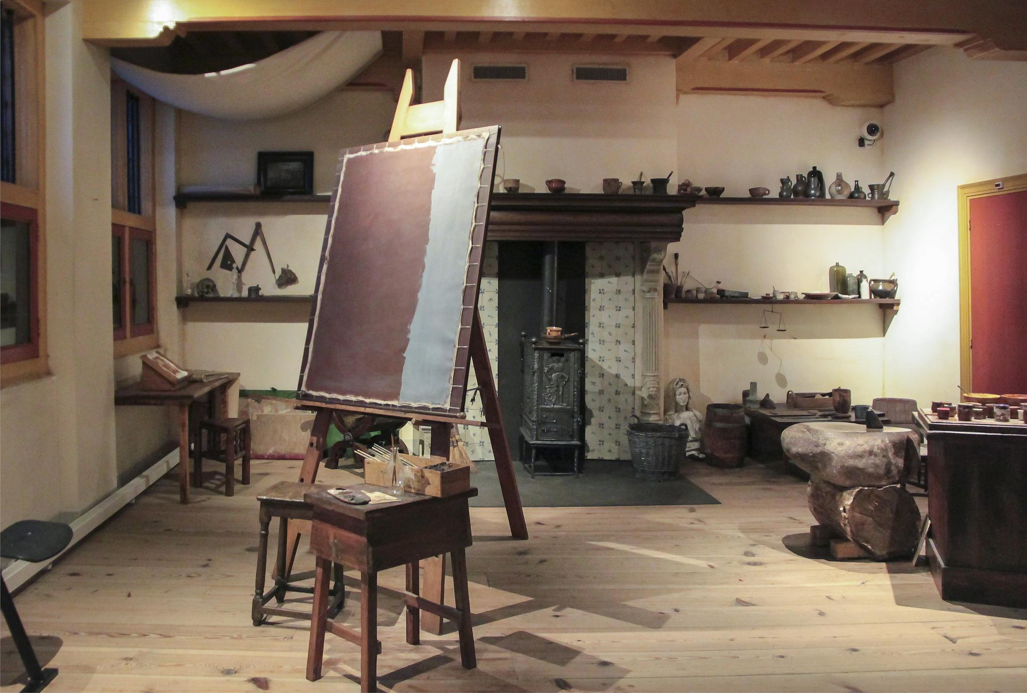 Музей Рембрандта, мастерская