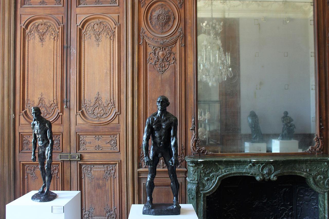 Музей Родена в Париже, интерьер