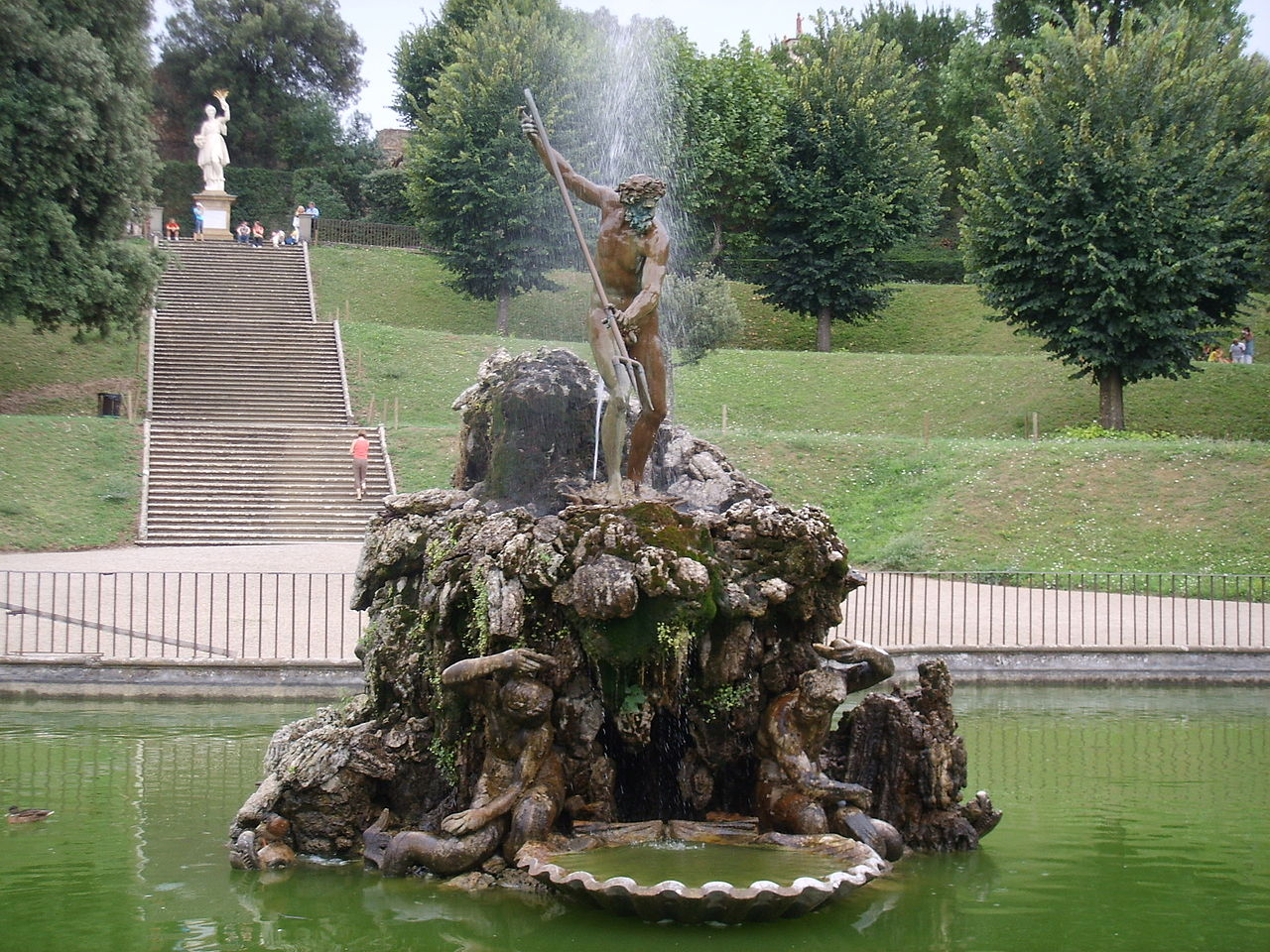 Сады Боболи, фонтан Тритона