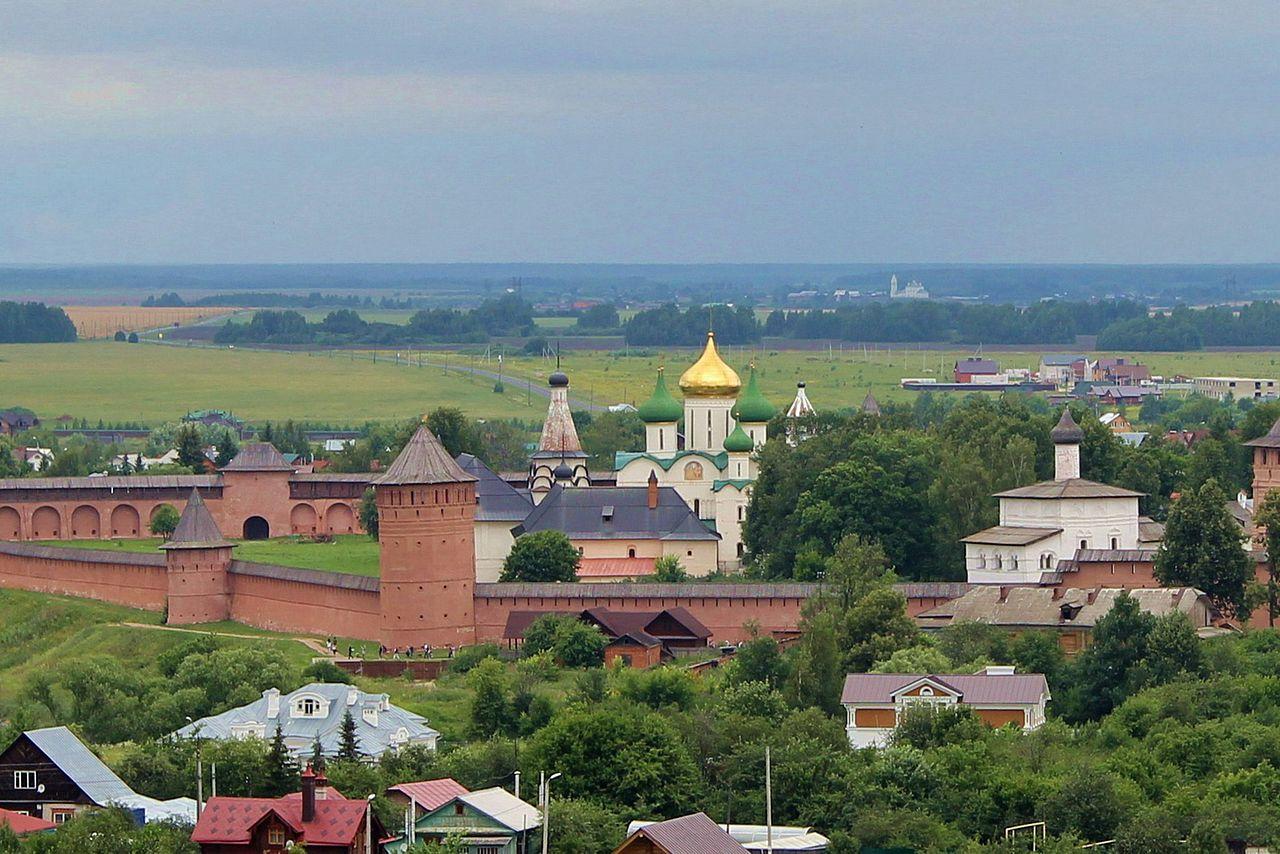 Спасо-Евфимиевский монастырь, панорамный вид