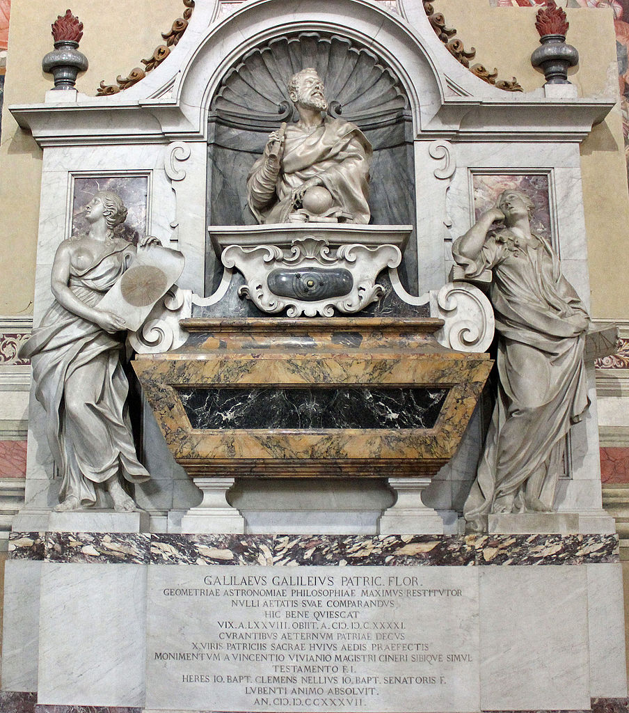 Базилика Санта-Кроче, гробница Галилео Галилея