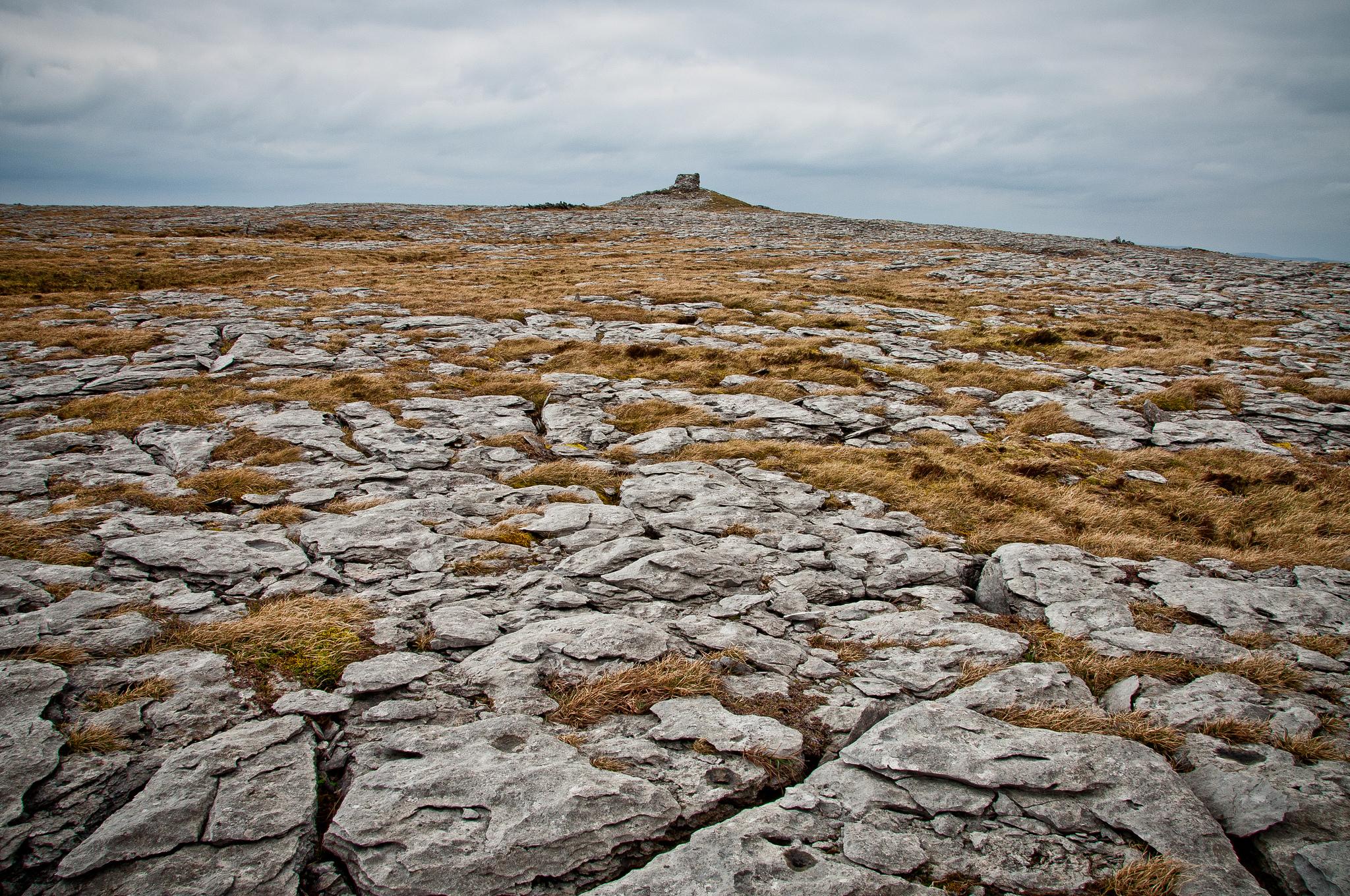 Местность Буррен, графство Клэр в Ирландии