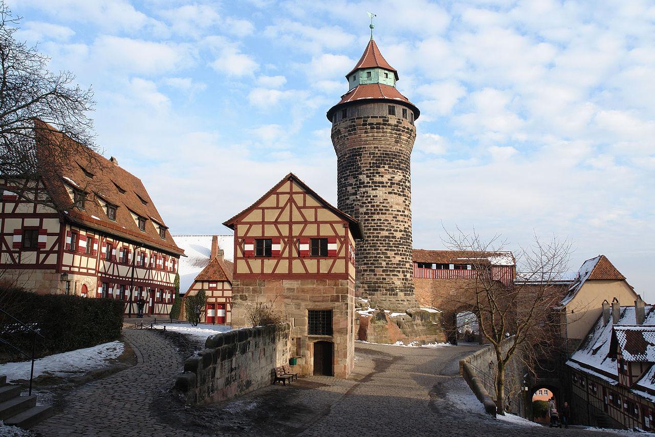 Нюрнбергская крепость, двор