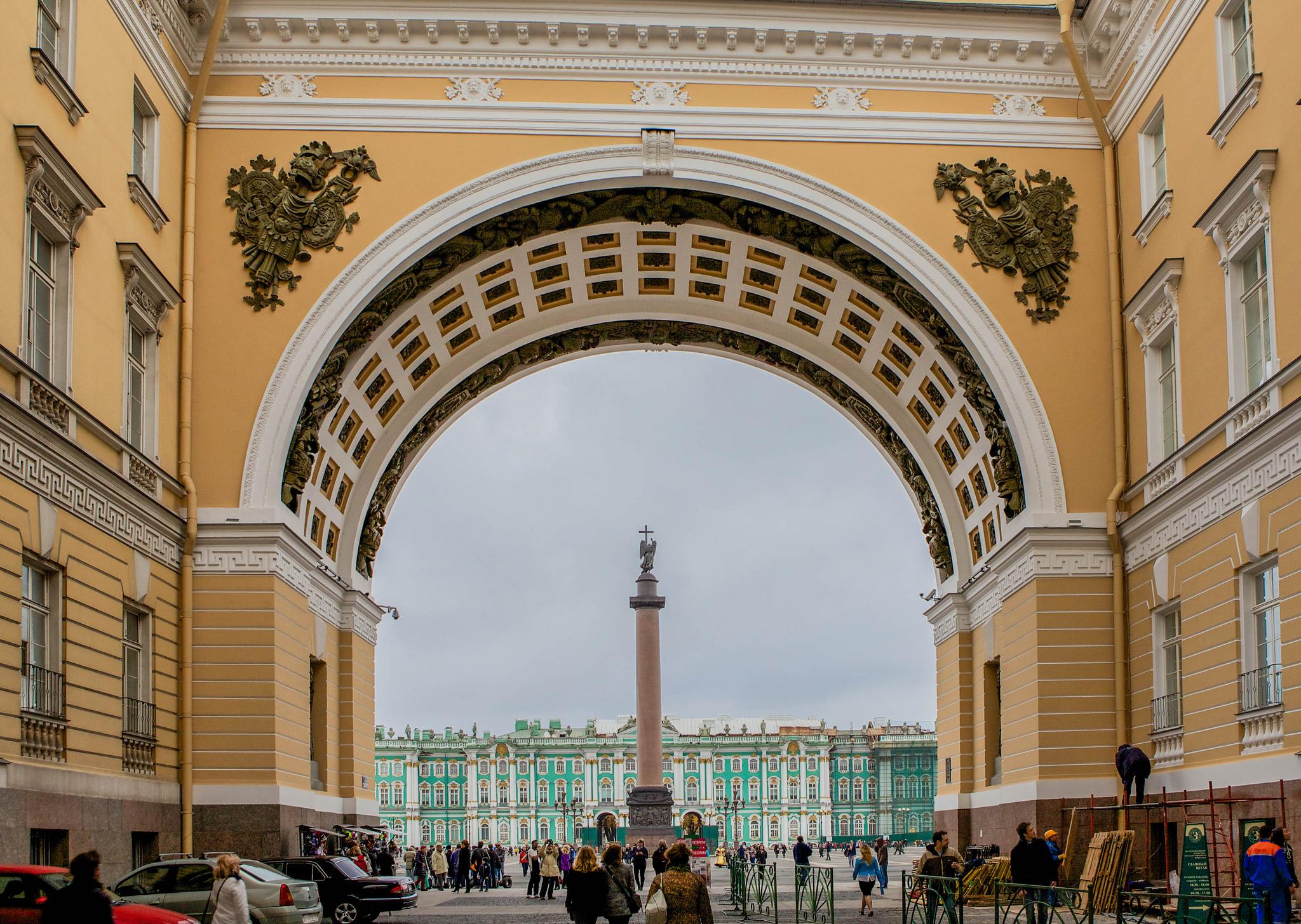 Александровская колонна в Санкт-Петербурге, Санкт-Петербург