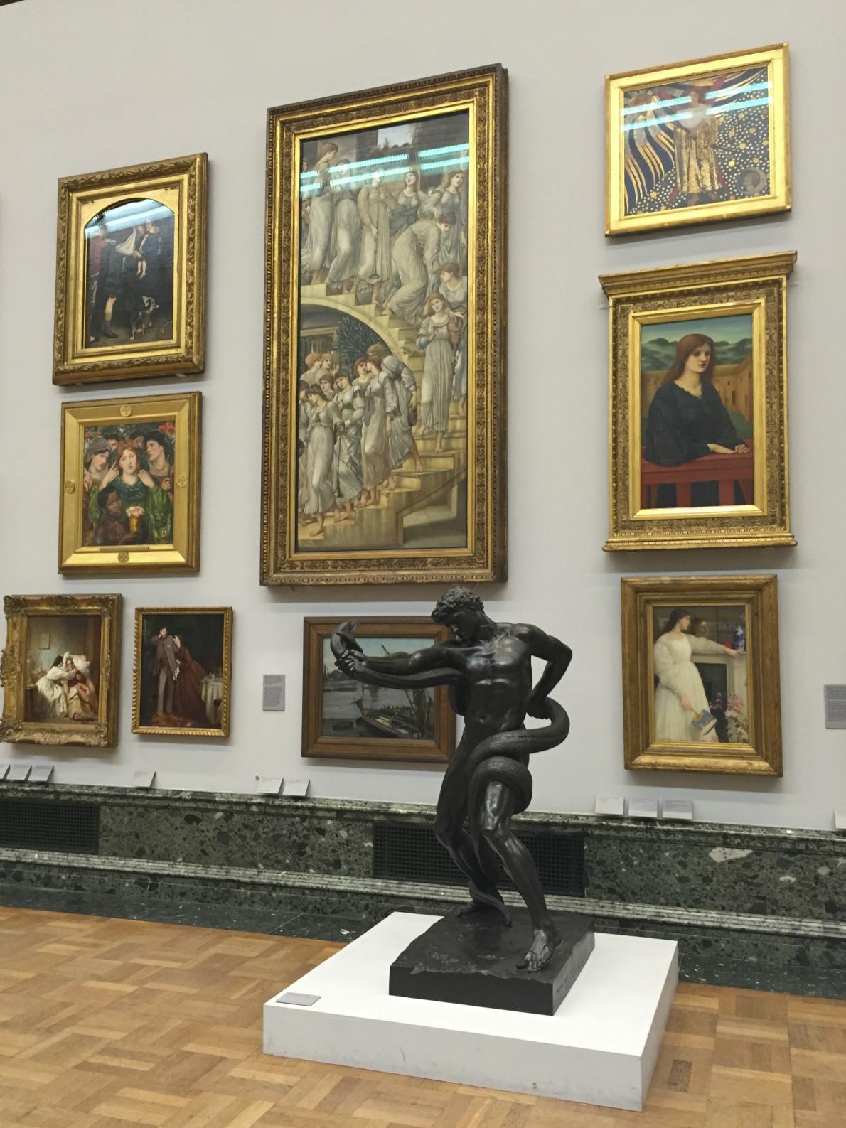 Галерея Тейт, экспозиция