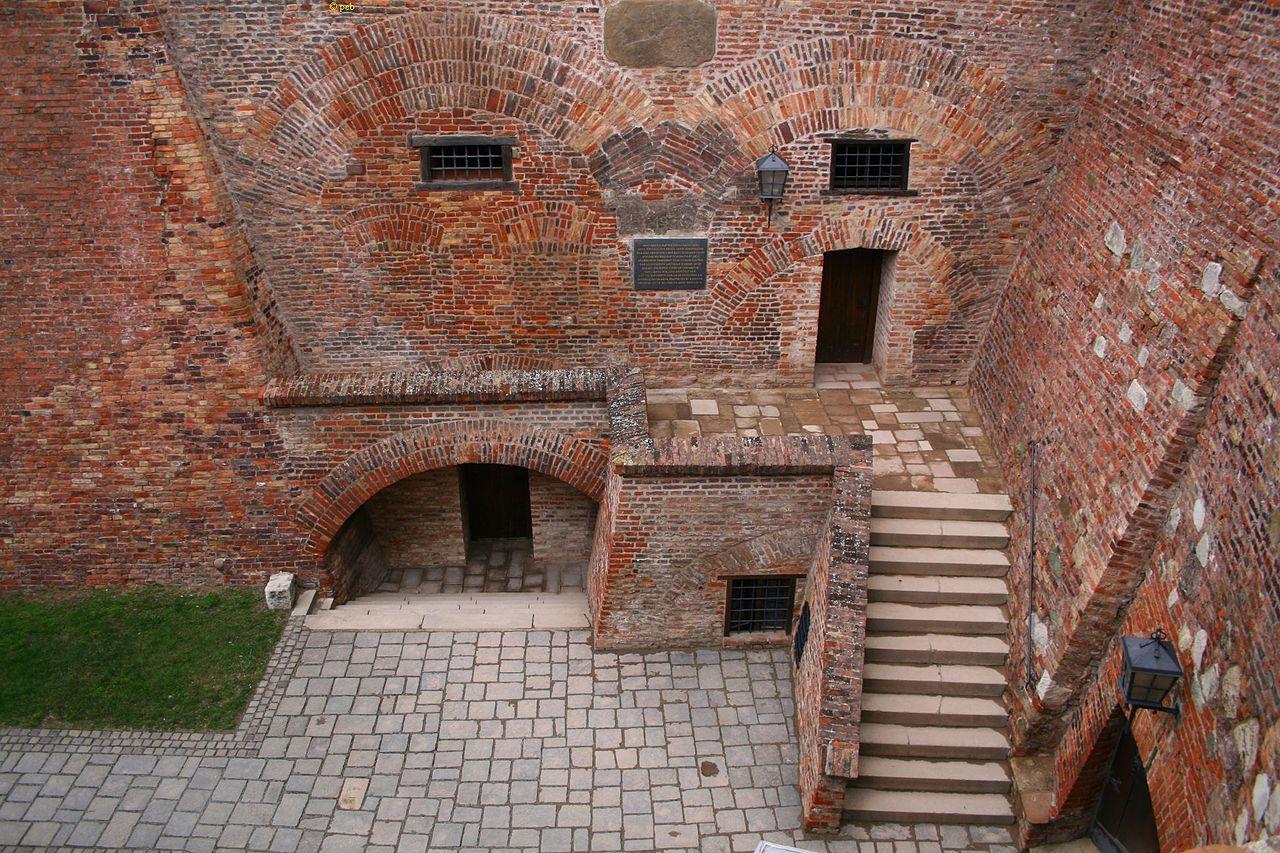 Замок Шпильберг, казематы