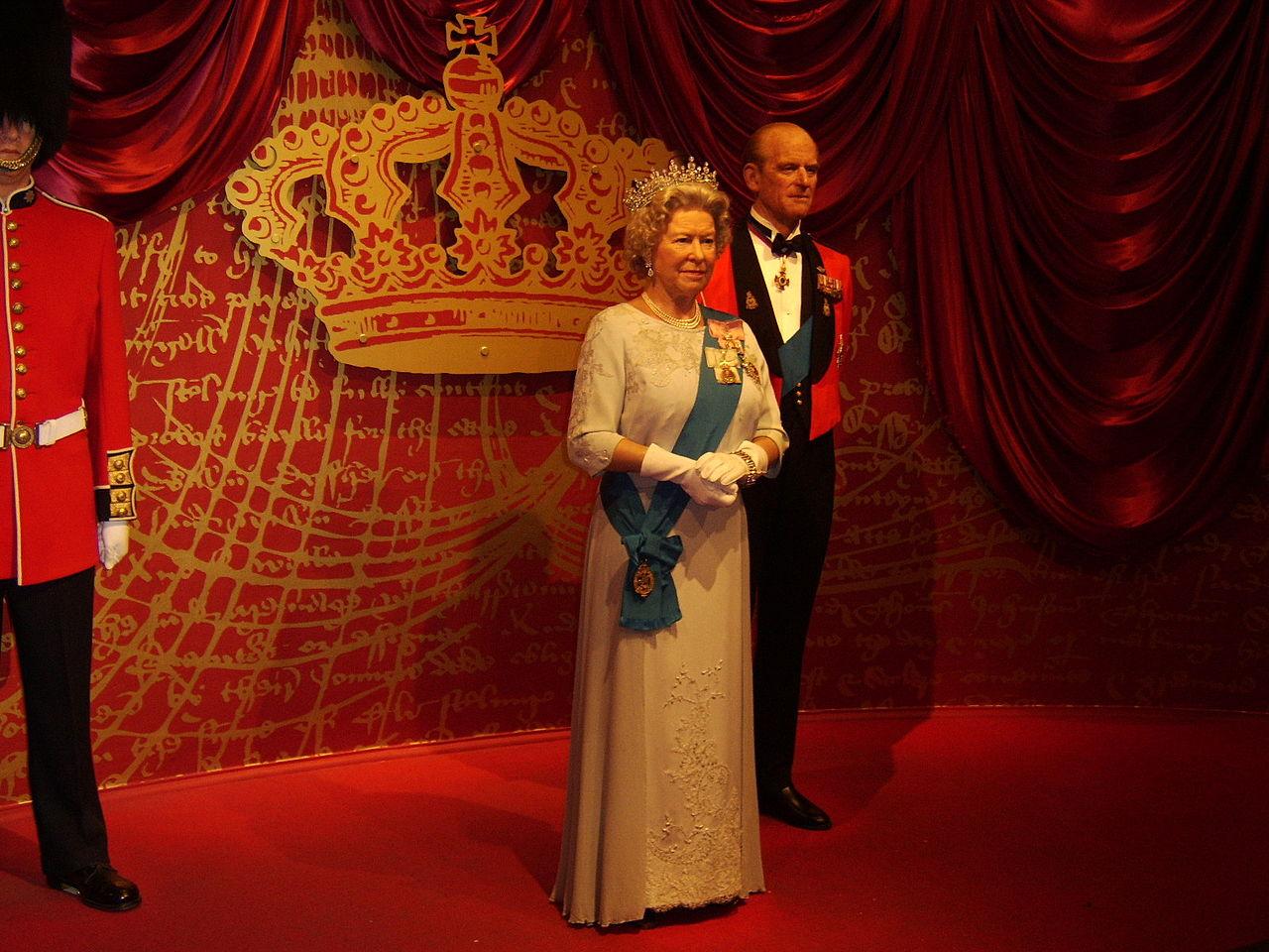 Музей мадам Тюссо в Лондоне, королевская чета