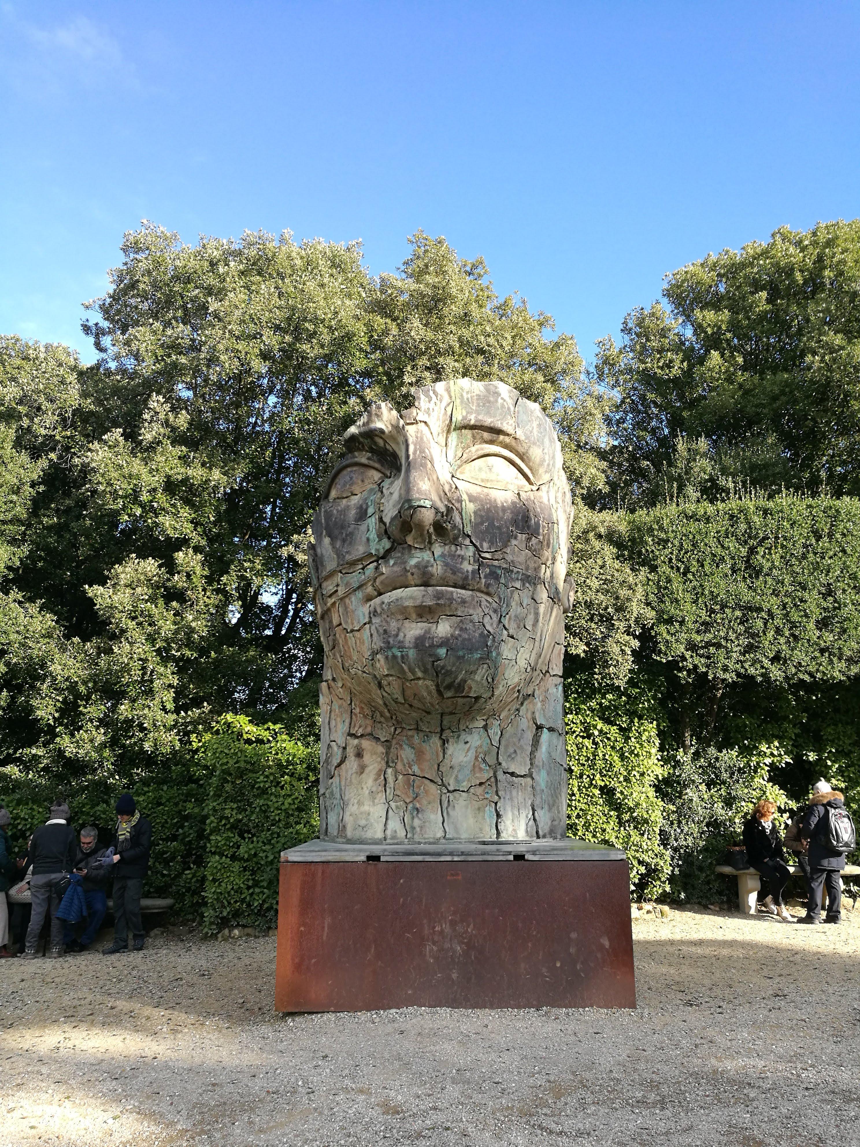 Скульптура в парке Сады Боболи, Флоренция