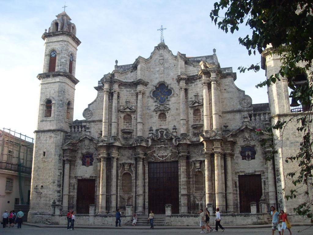 Старая Гавана, собор святого Христофора