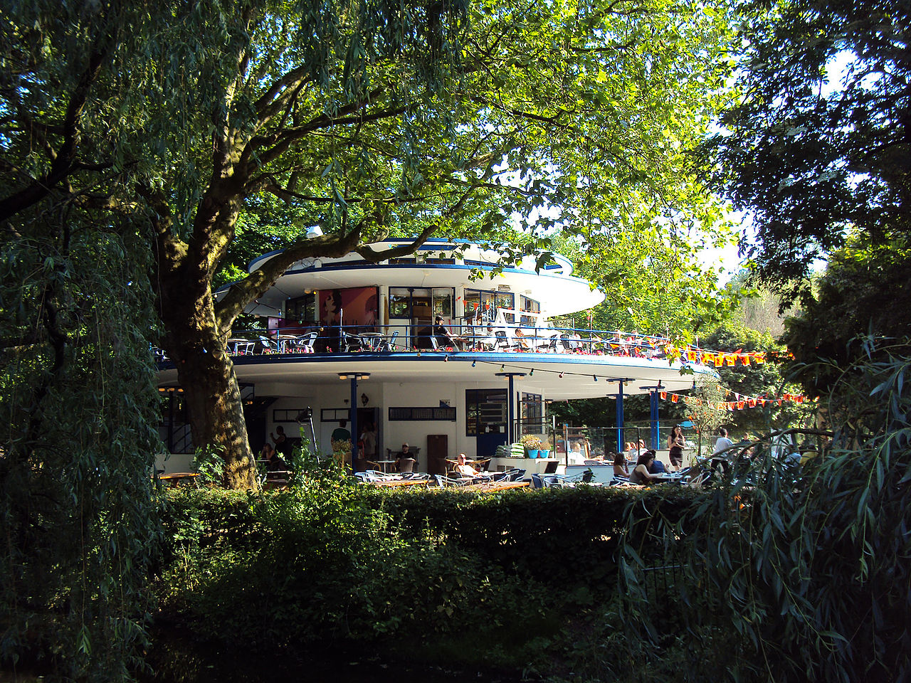 Парк Вондела, чайный домик