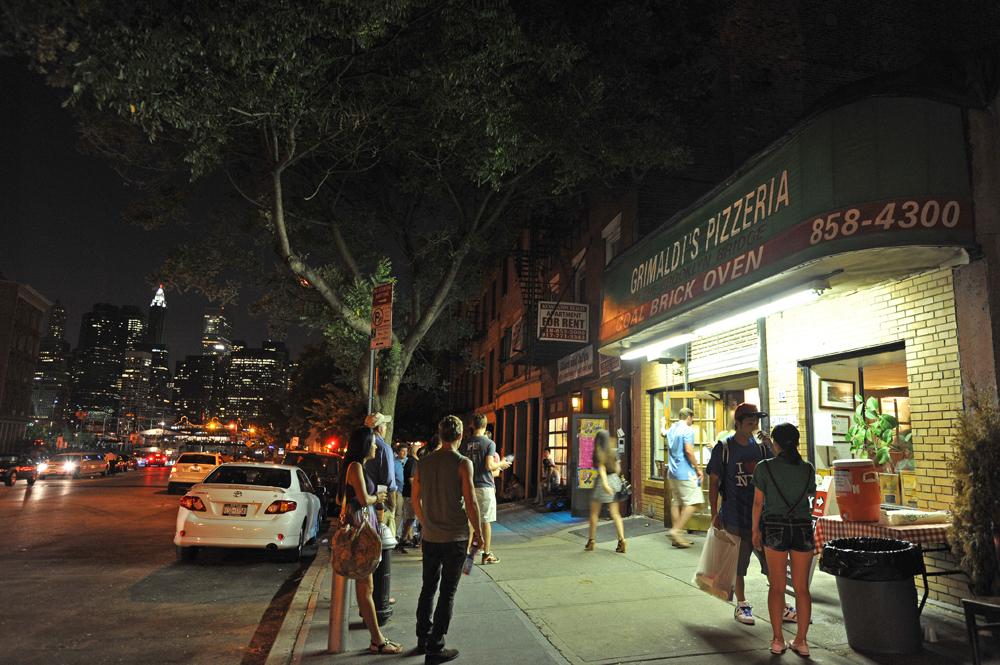 Пиццерия в Бруклине, Нью-Йорк