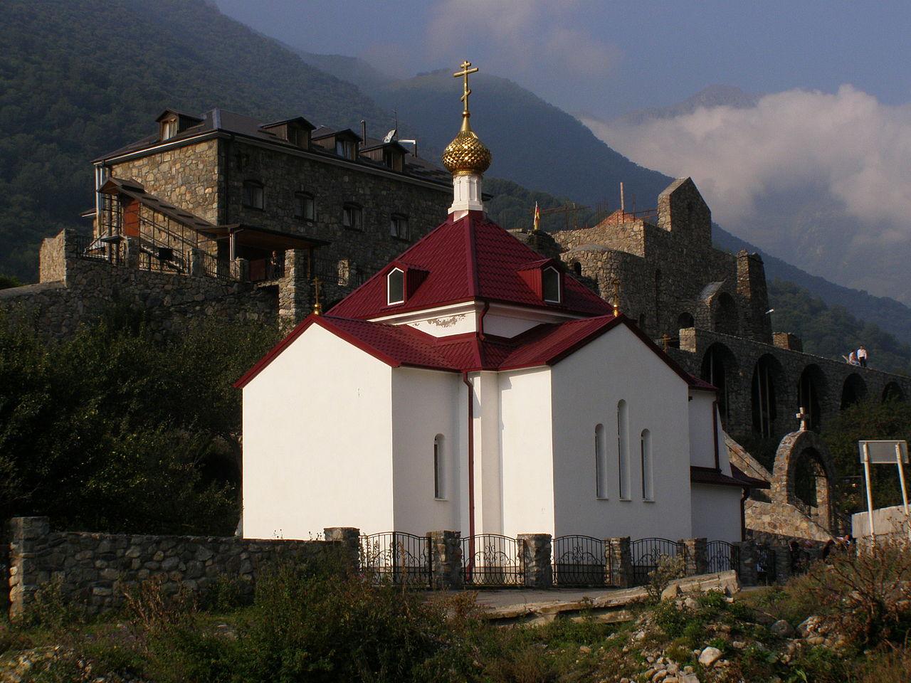 Аланский Успенский монастырь, Мироносицкая церковь XIX века