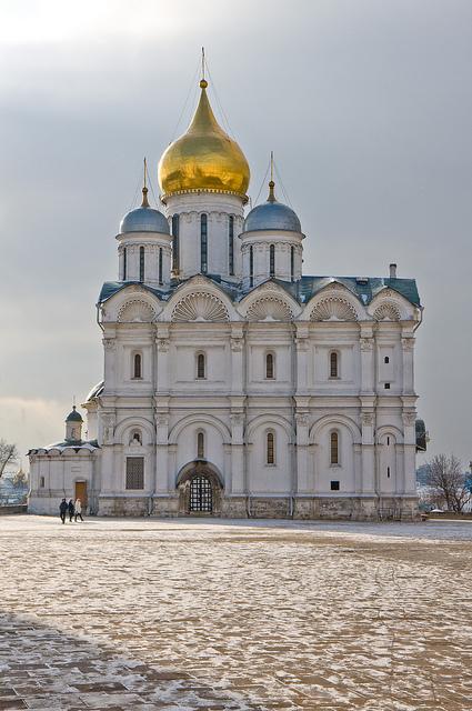 Виды Архангельского собора, Москва