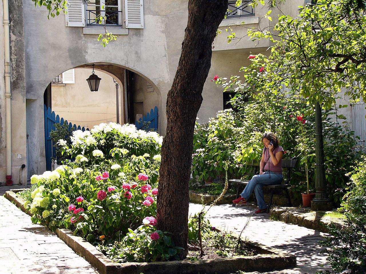 Музей Монмартра, сад