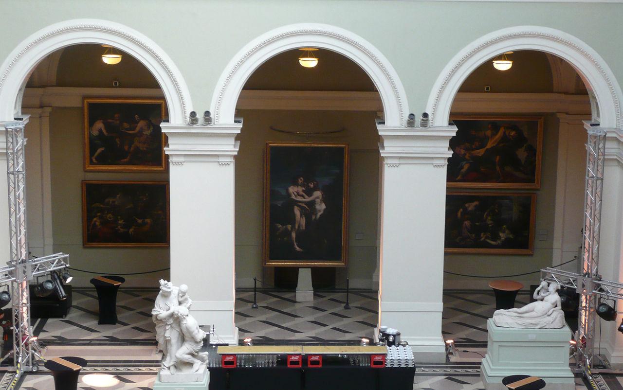 Музей изобразительных искусств в Будапеште, итальянская живопись