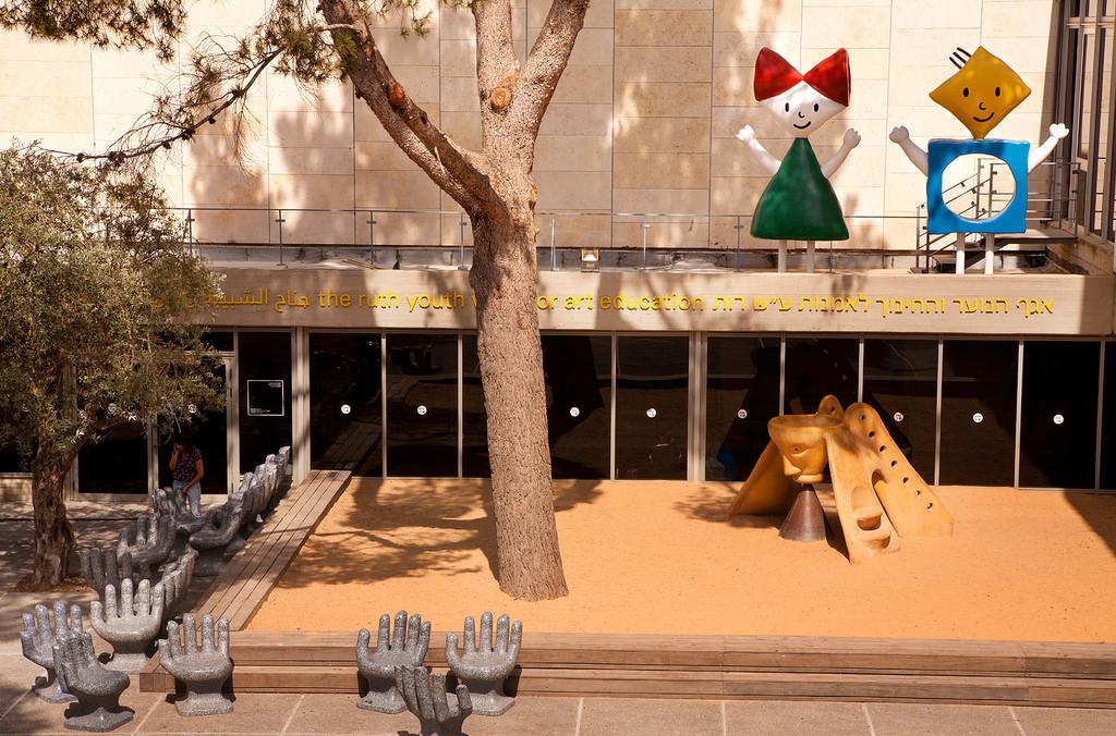 Вход в музей Израиля, Иерусалим