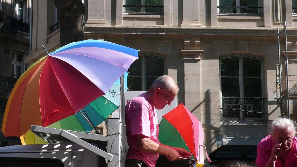 Гей-парад, Париж
