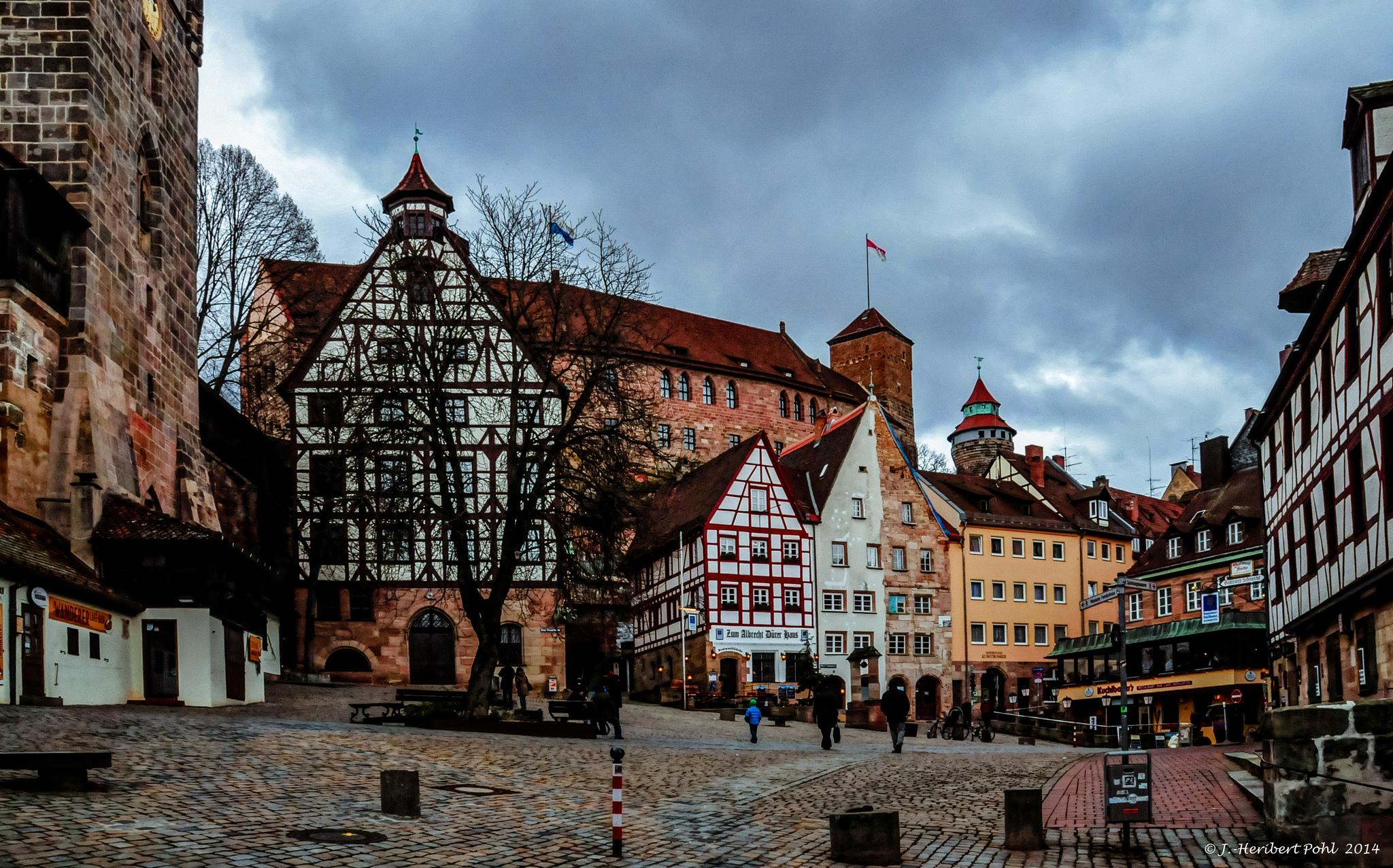 Историческая миля Нюрнберга, Германия
