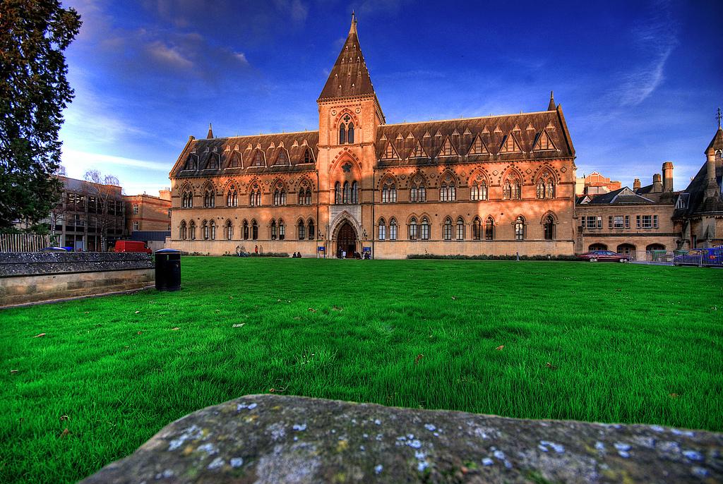 Музей естествознания в Оксфордском университете