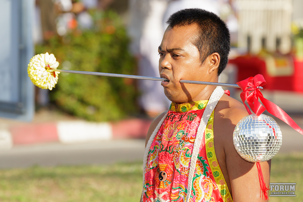 Буддист фестиваля в Пхукете