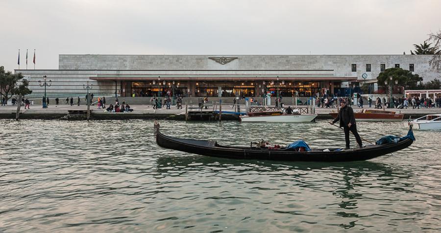 Железнодорожный вокзал Венеции