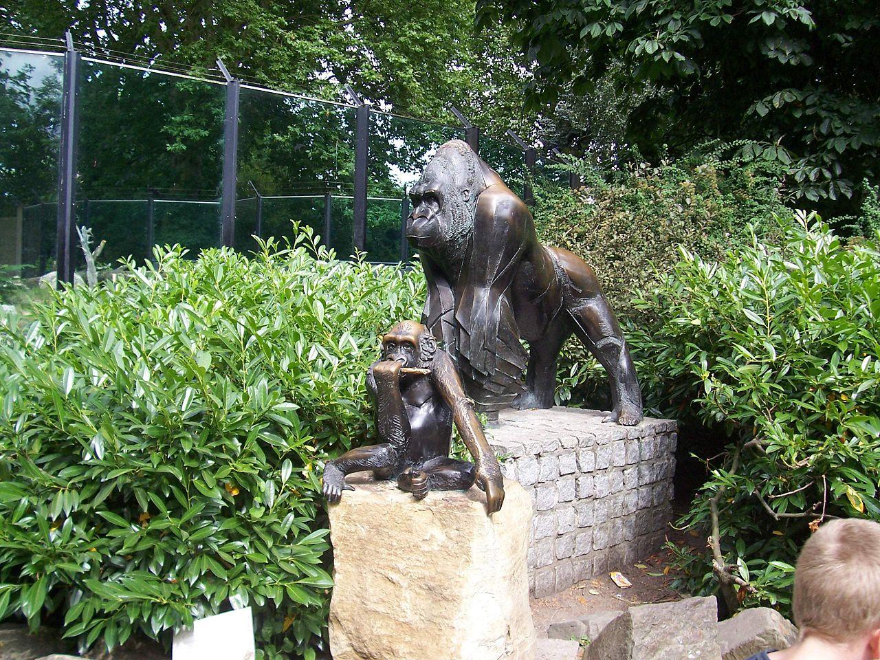 Зоопарк в Амстердаме, скульптурная композиция