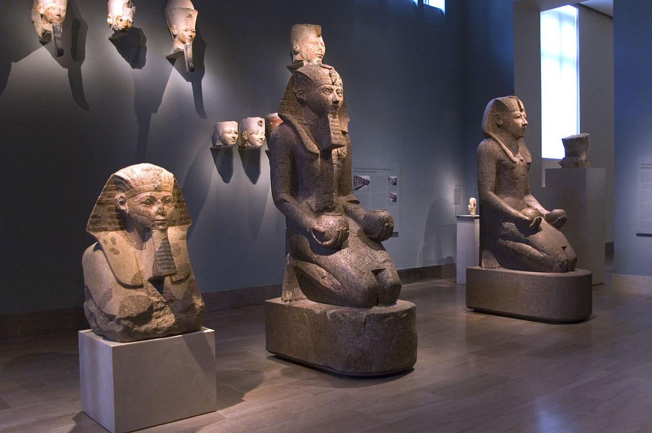 Метрополитен-музей, зал Древнего Египта