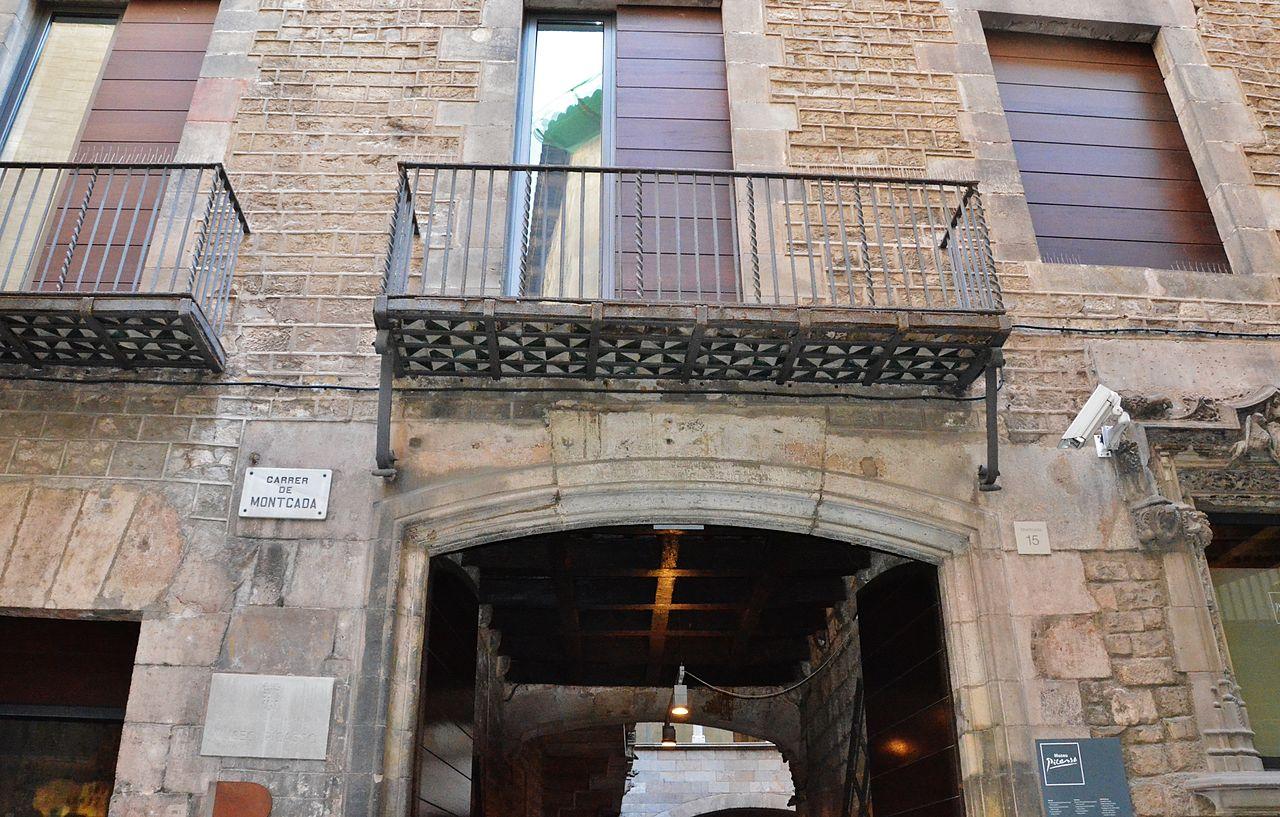 Музей Пикассо в Барселоне, вход