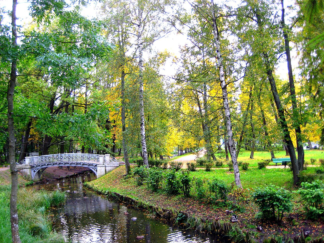 Остров Любви в Дворцовом парке Гатчины