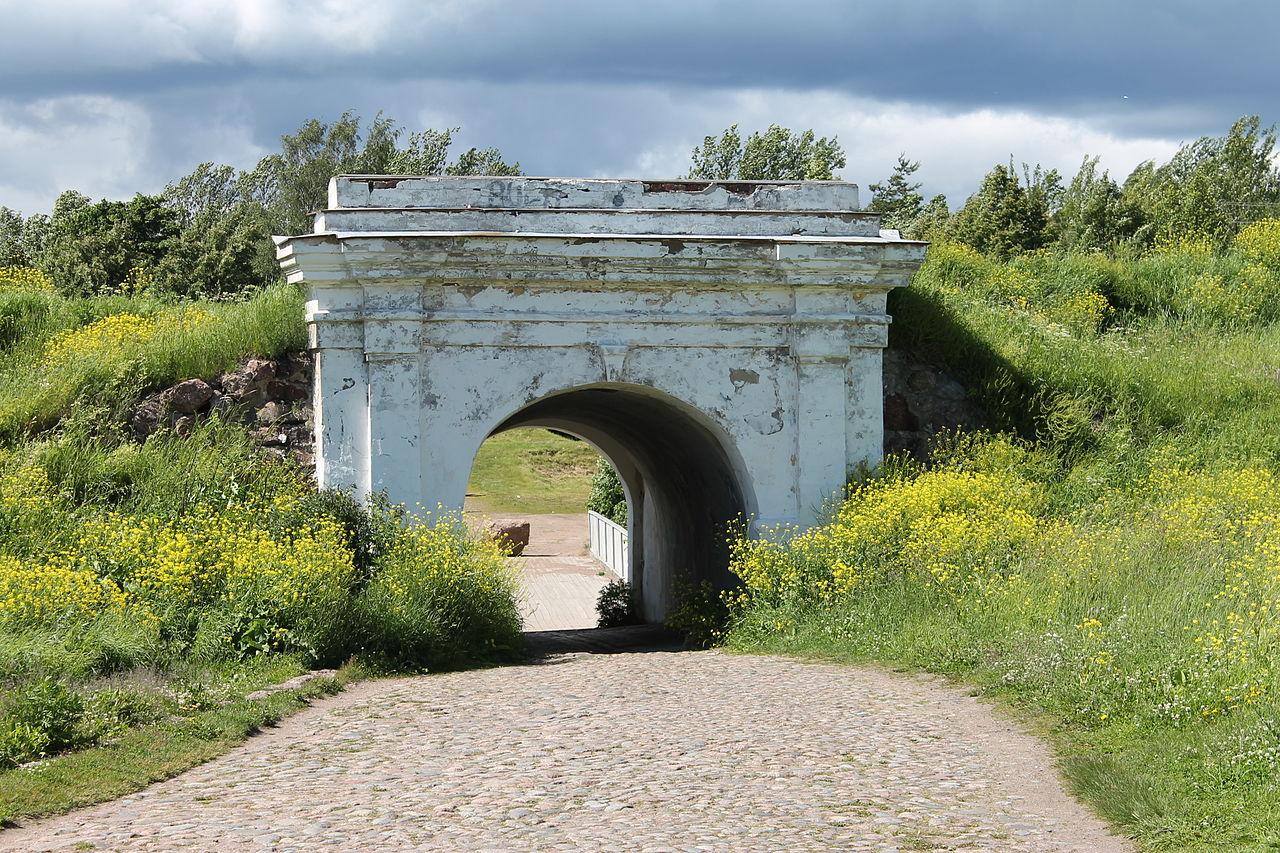 Анненские укрепления, Равелинные ворота