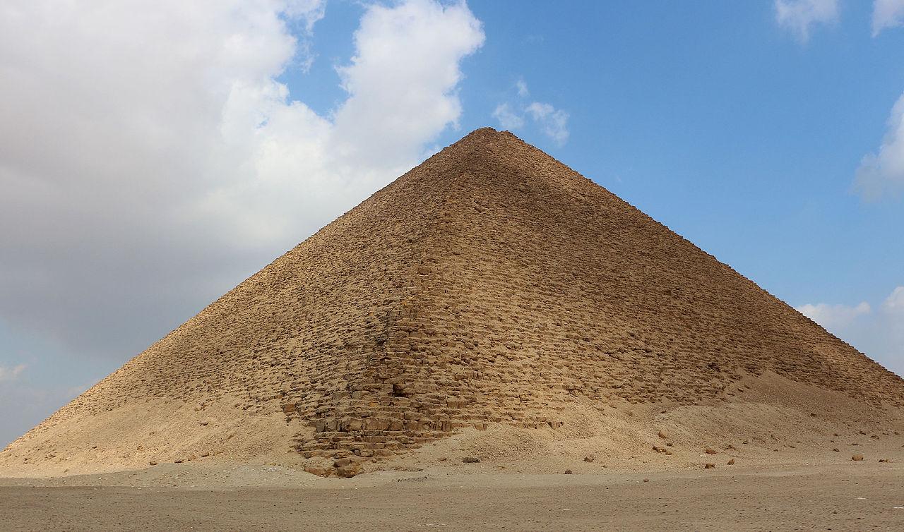 Дахшур, Розовая пирамида Снофру