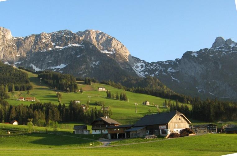 Коммуна в Австрийских Альпах