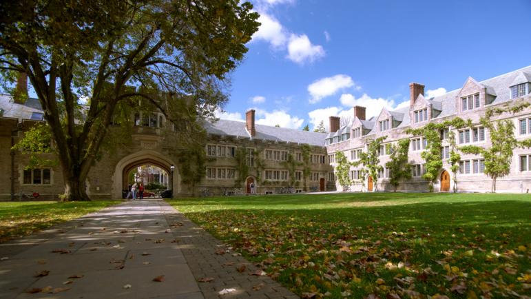Принстонский университет в Нью-Джерси