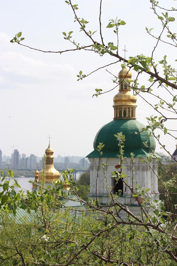 Вид на собор, Киево-Печерская Лавра, Киев