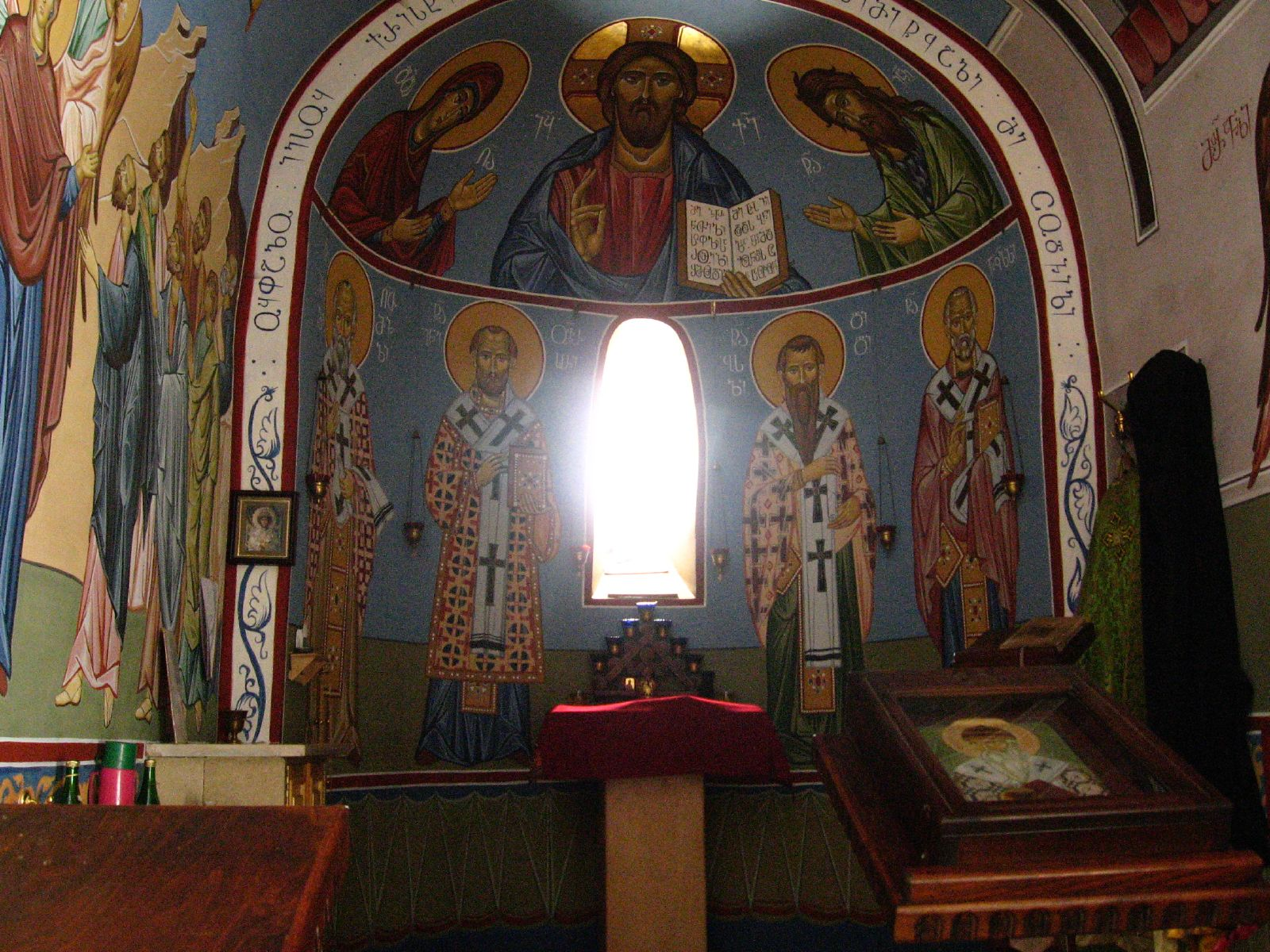 Зеленый монастырь в Боржоми, интерьер