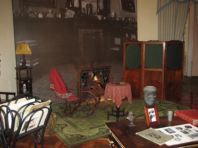 Интерьеры Александровского дворца, Пушкин