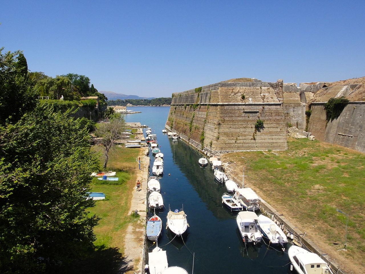 Старая крепость Керкиры (Палео Фрурио)